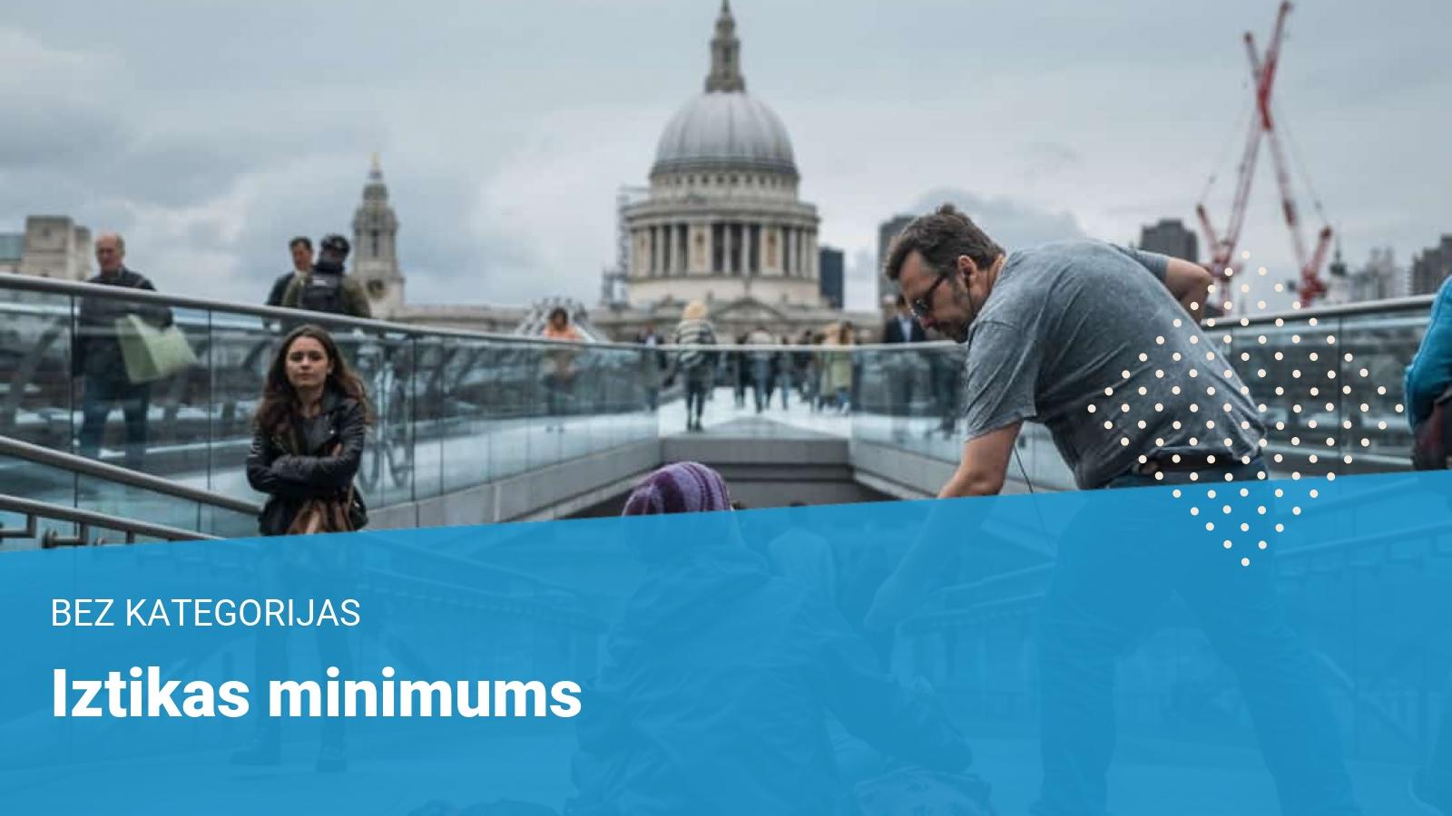 iztikas minimums