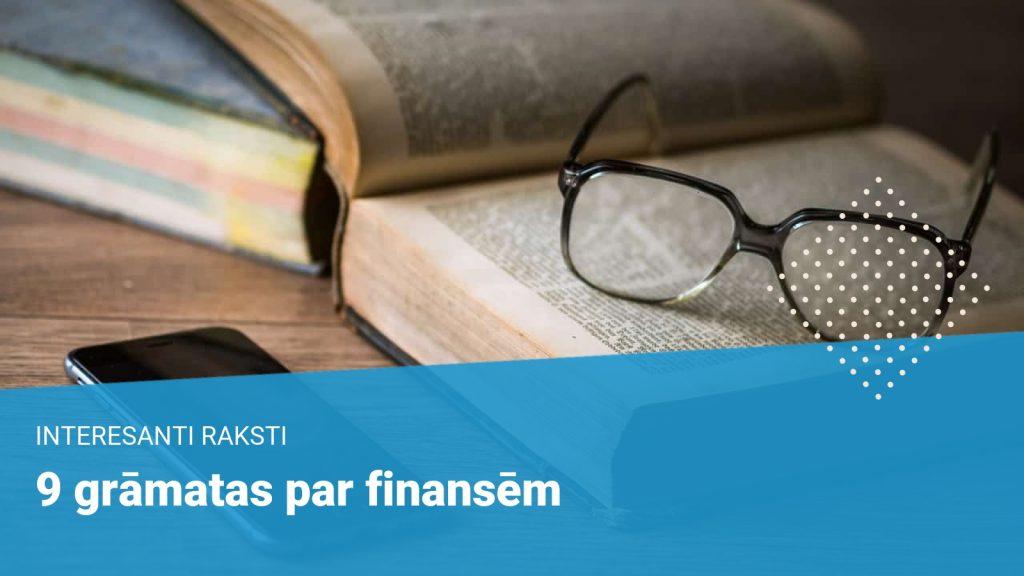 9 grāmatas par finansēm