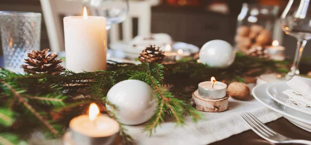 святковий новорічний стіл