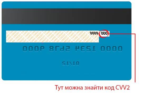 картка з кодом