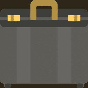 коричневий портфель