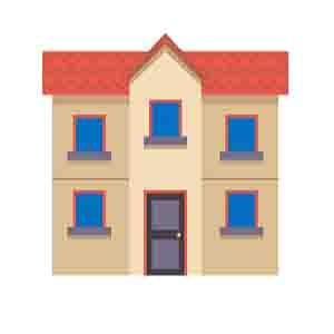 двоповерховий будинок