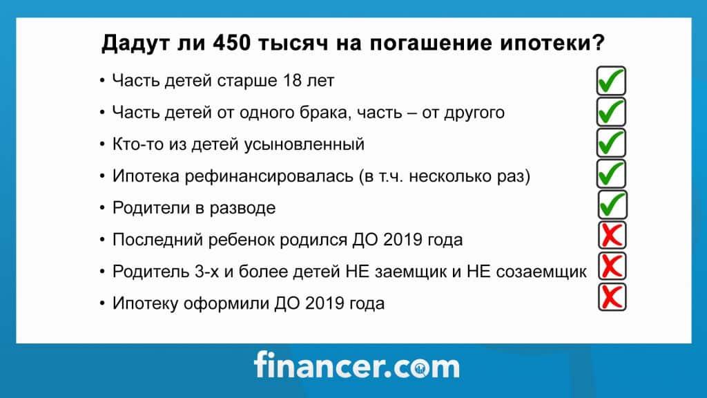 Компенсация ипотеки многодетным семьям (когда заработает) в 2021 году