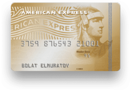 Halyk Bank American Express Gold Card