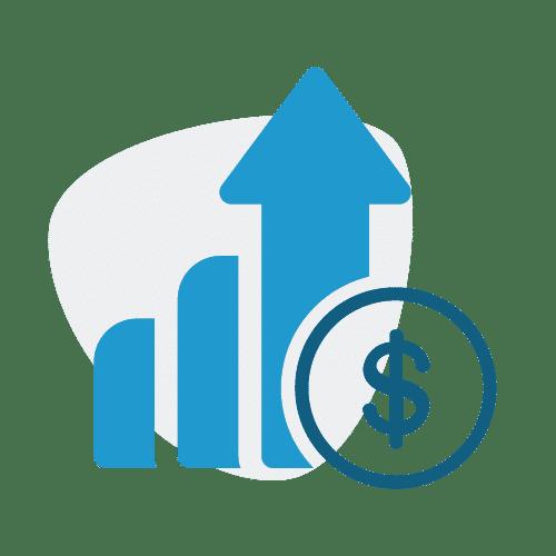графика на инвестиция в акции