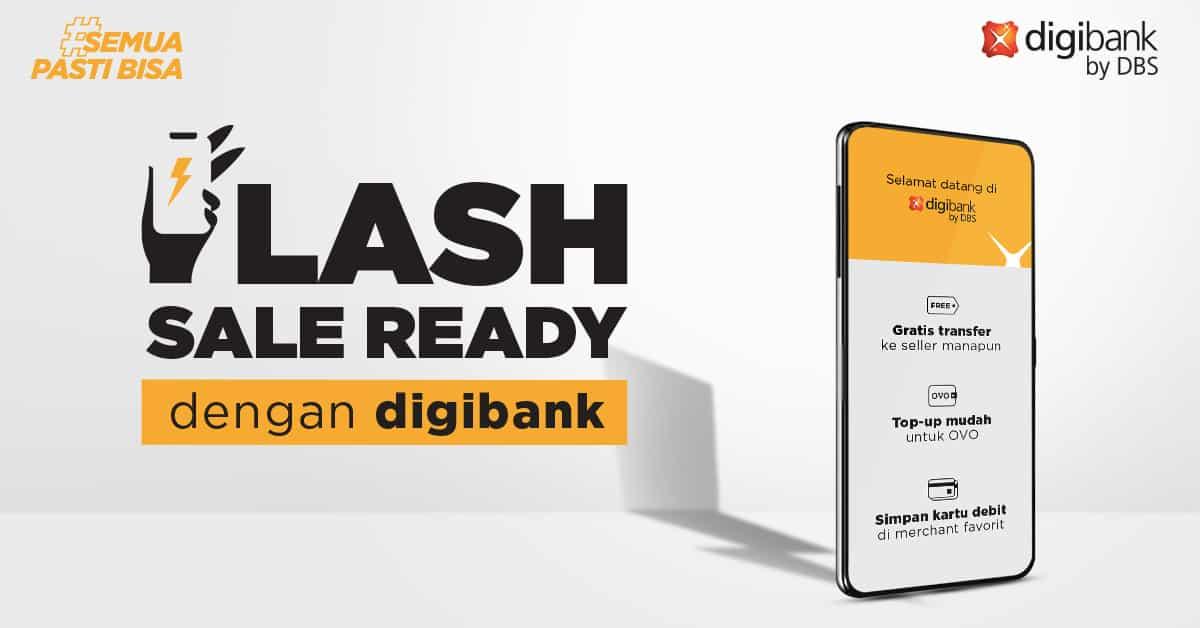 Flash Sale Digibank DBS