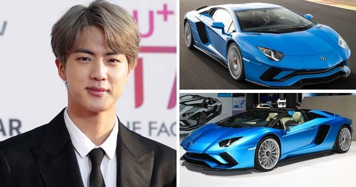 Investasi Mobil Sport Jin BTS