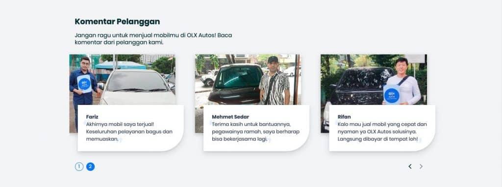 Testimoni Pelanggan OLX Autos