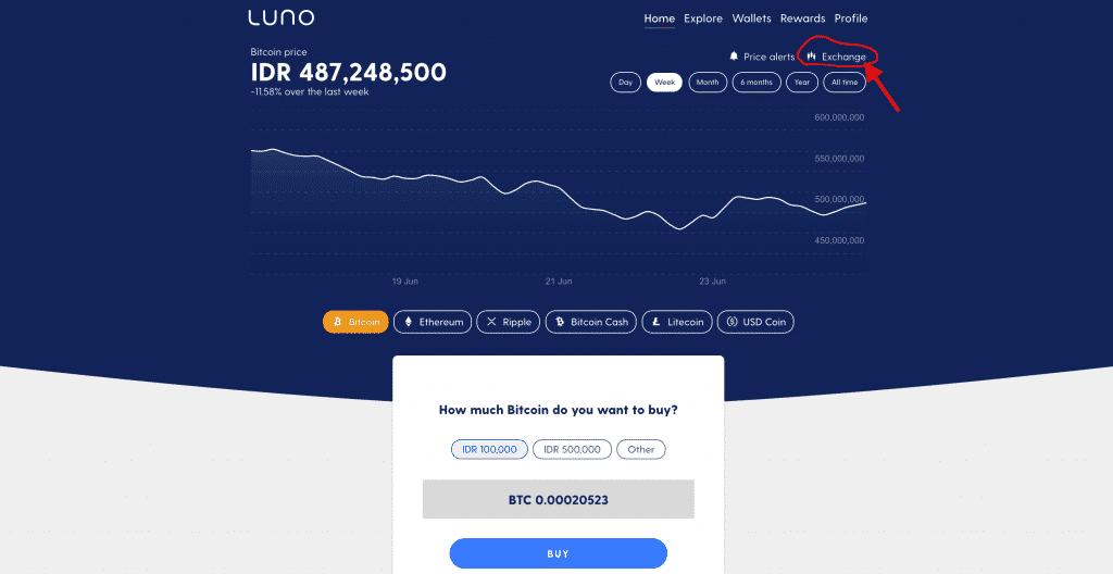 Trading Luno