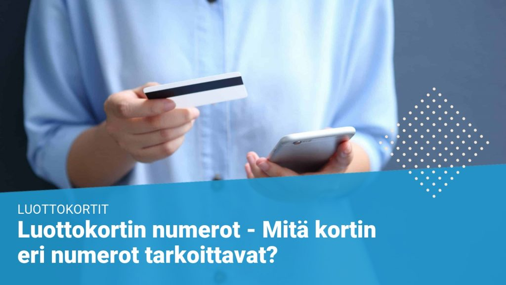 Luottokortin numerot