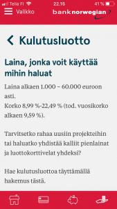 bank-norwegian-sovellus