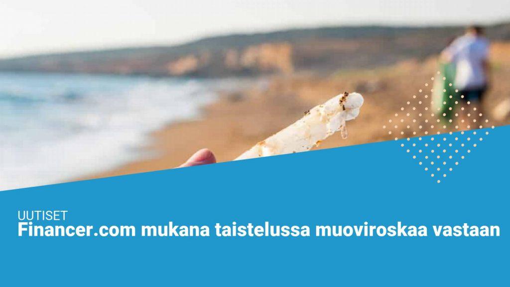 Financer.com beach cleanup