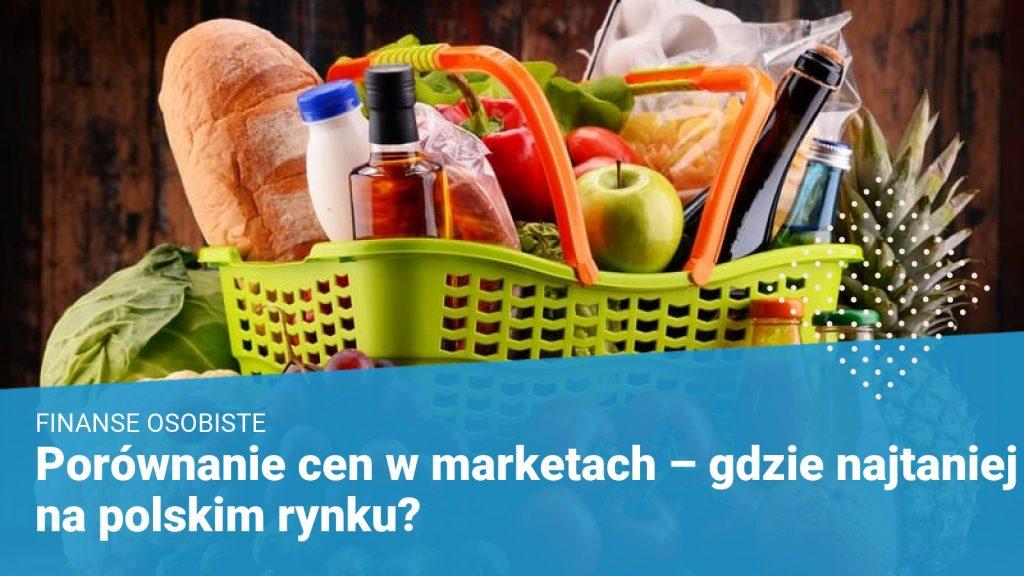 Porównanie cen w marketach