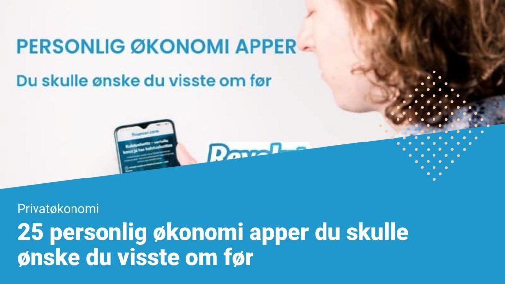 Personlig økonomi apper - financer.com