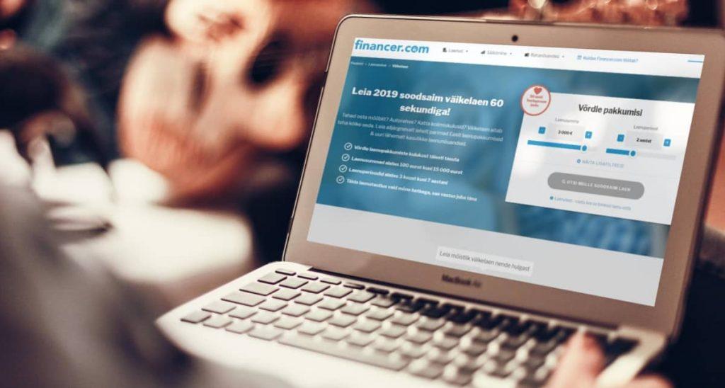 Financer.com laenutrendide uuring millised laenud meeldivad Eesti tarbijale kõige rohkem