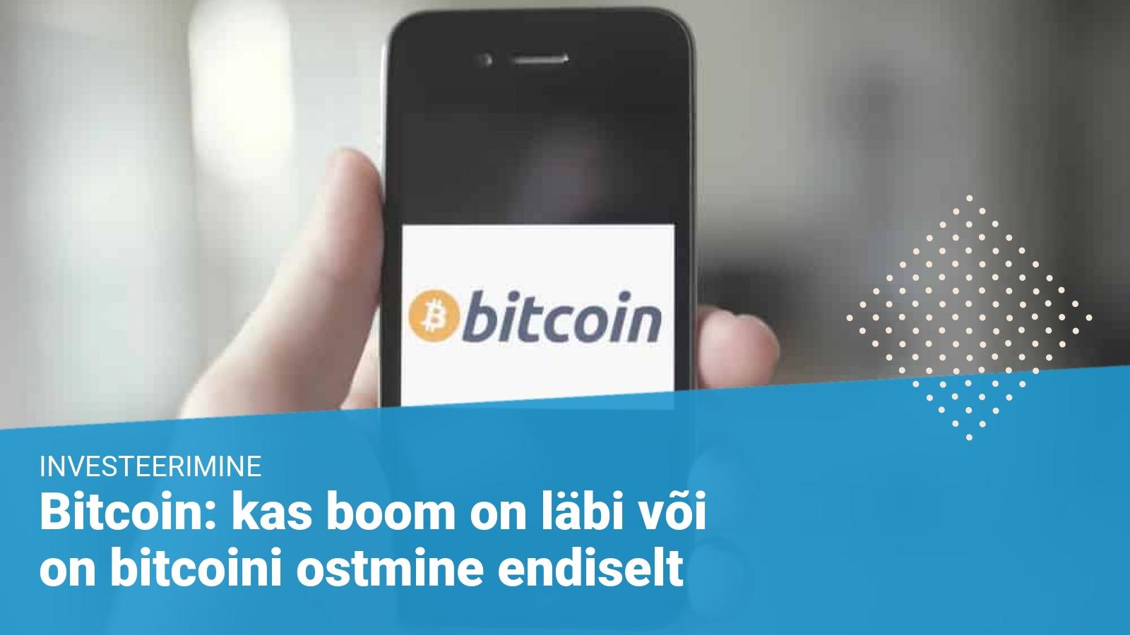 bitcoin - bitcoini ostmine