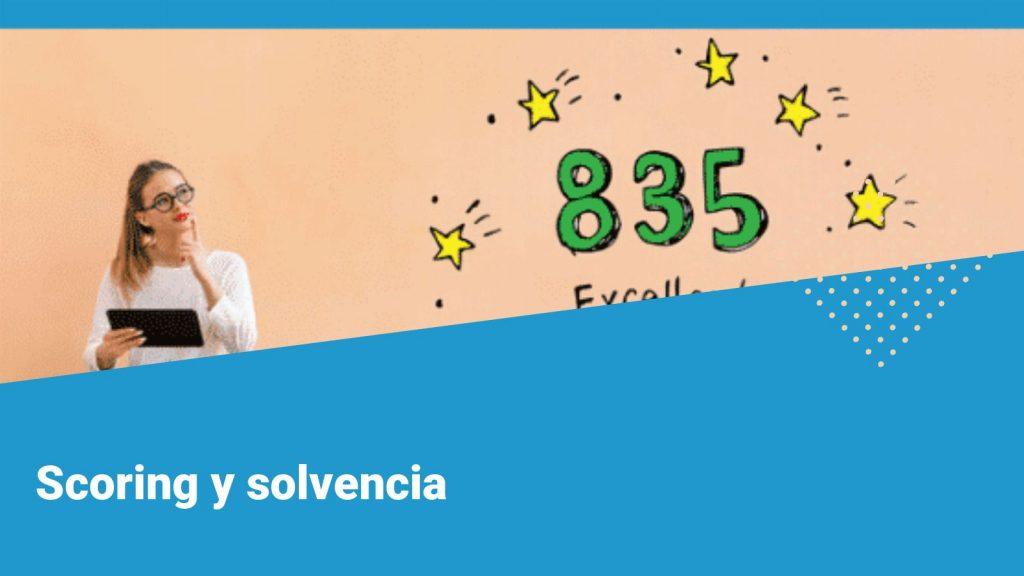 Scoring solvencia