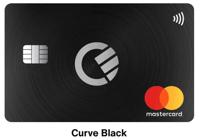 tarjeta black curve