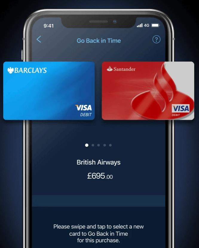 sincroniza tus tarjetas en la app de curve