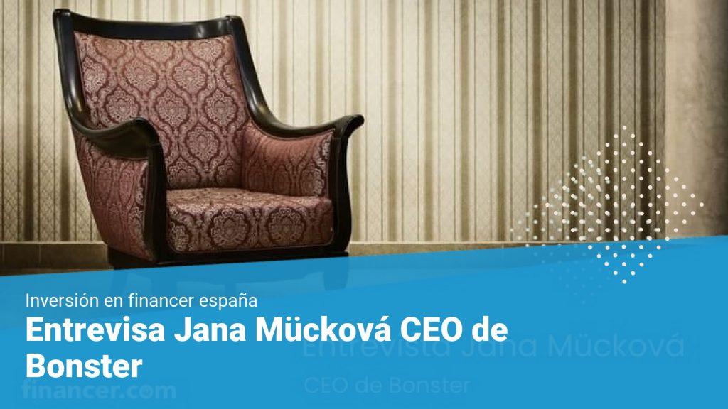 Entrevisa Jana Mücková CEO de Bonster