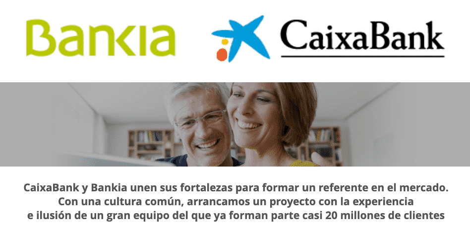 fusion de Bankia con Caixabank