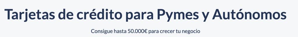 capitalontap tarjetas de credito para autonomos y pymes