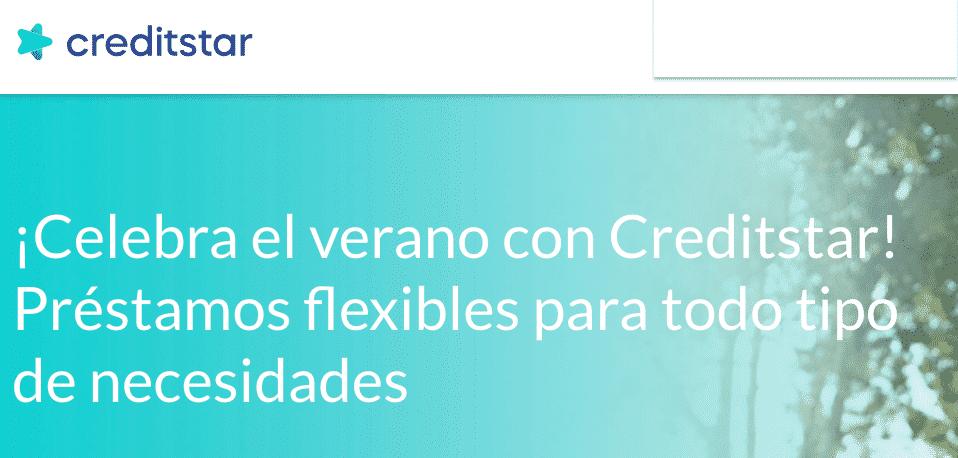 prestamos faciles y flexibles en Creditstar