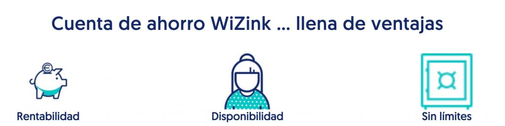 cuenta wizink: ventajas