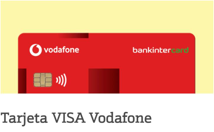 tarjeta bankintercard Visa vodafone